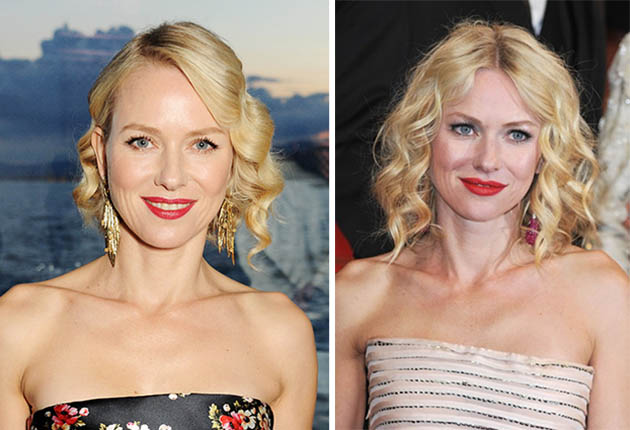 Naomi Watts Blonde Hair