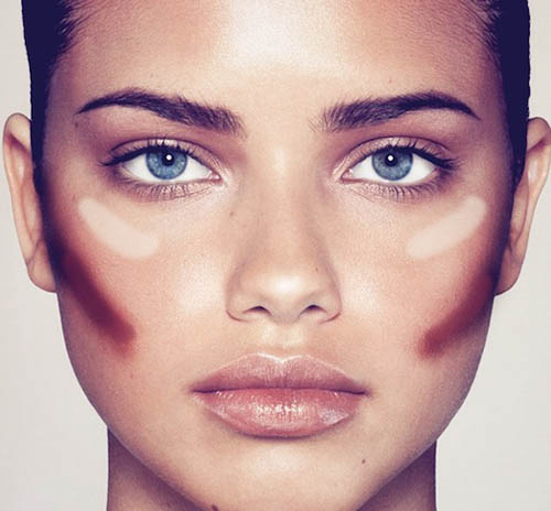 Makeup Tips for Round Faces