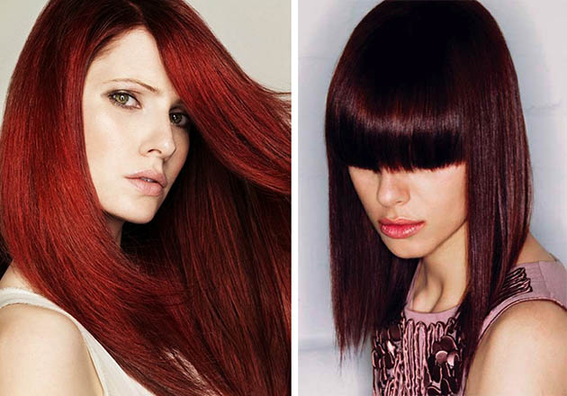 Burgundy Hair Color Ideas Beauty Tips Hair Care