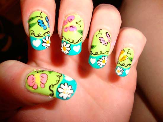 Stylish Nail Art Designs and Ideas