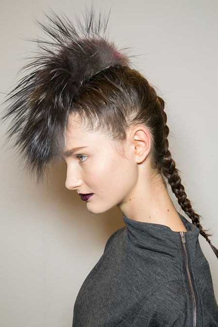 Punk Rock Hairstyles for Fall 2013