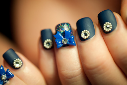 Cute Nail Art Designs With Bows