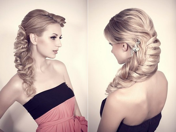 Updo Hairstyles for Bridesmaids