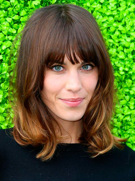 Best Celebrity Ombre Hairstyles Beauty Tips Hair Care
