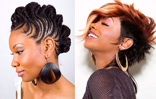 Astonishing Best Mohawk Hairstyles For Black Women Beauty Tips Hair Care Short Hairstyles For Black Women Fulllsitofus
