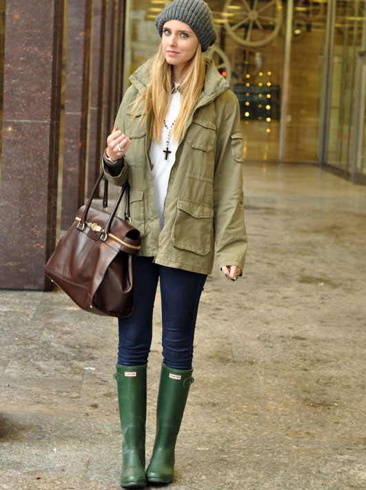 How to Wear Rubber Boots