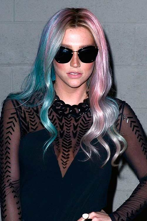 Bold colorful Hair