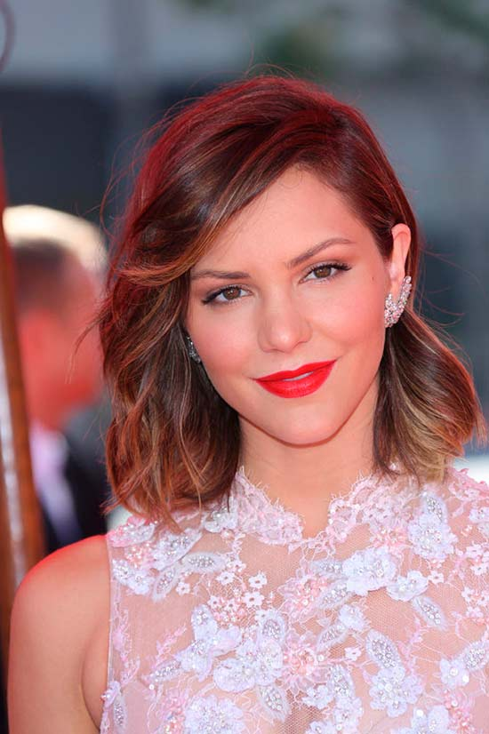 Classy Celeb Inspired Winter Hairstyles