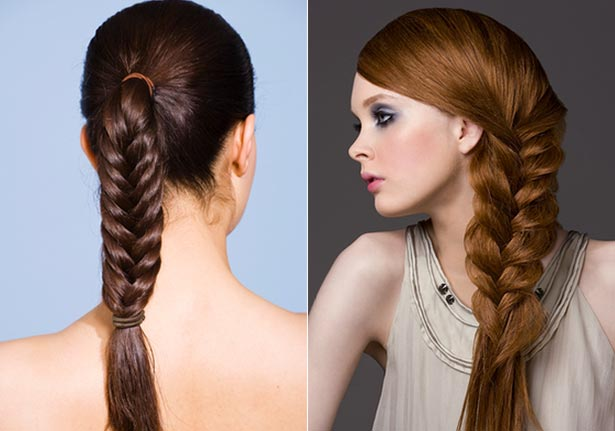 Peachy Hairstyles With Two Braids Braids Hairstyles For Women Draintrainus