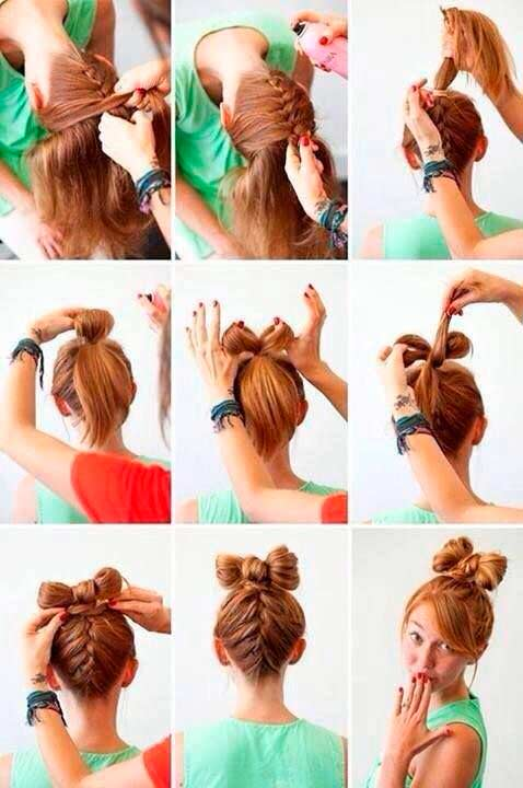 Top 50 cute girly hairstyles with bows beauty tips hair care top 50 cute girly hairstyles with bows urmus Images