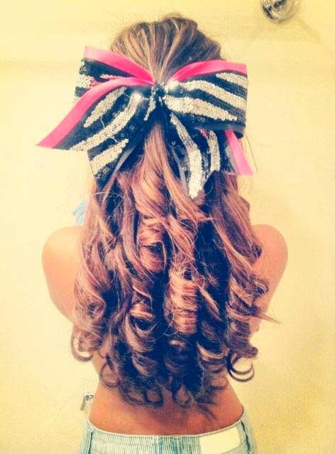 Cool Top 50 Cute Girly Hairstyles With Bows Beauty Tips Hair Care Short Hairstyles Gunalazisus
