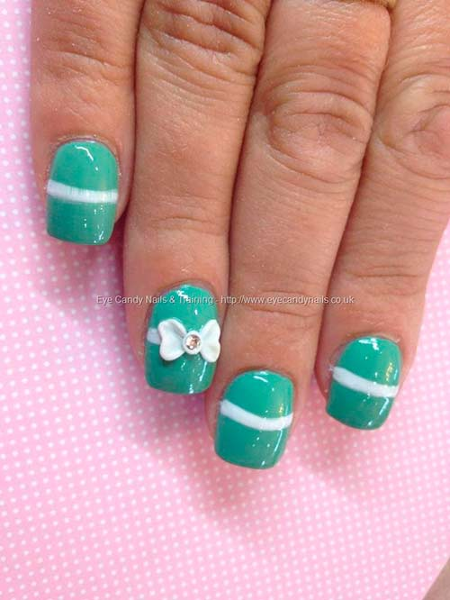 Cute Acrylic Nail Designs With Bows Related Keywords And Tags