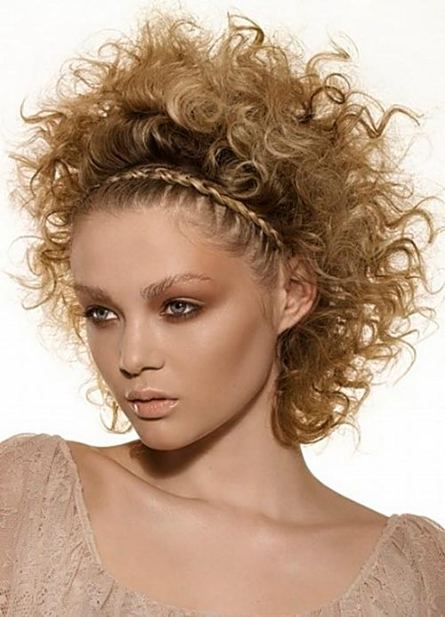 Incredible Braids Hairstyles For Short Curly Hair Braids Short Hairstyles Gunalazisus