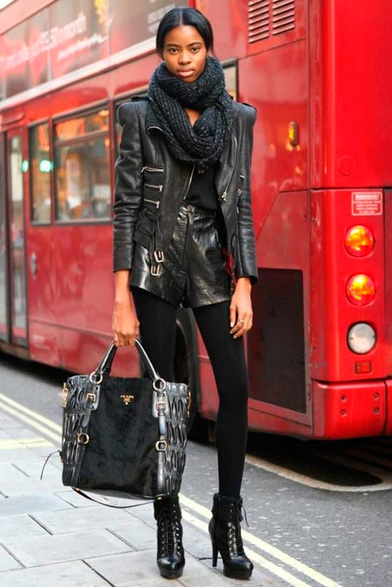 Creative Ideas for Wearing a Leather Jacket