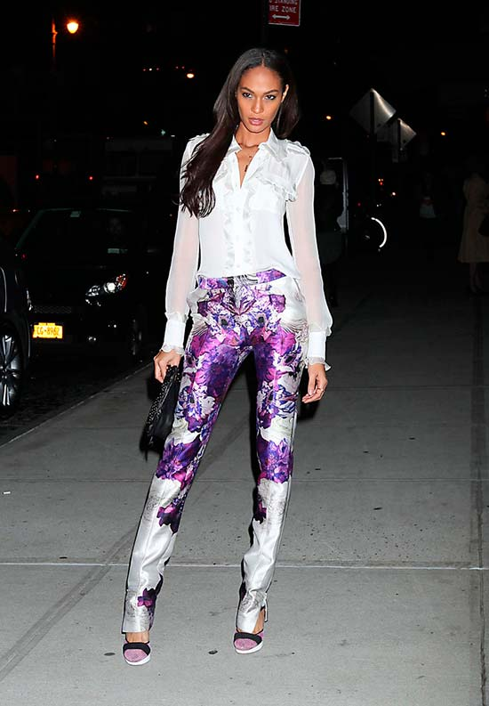 10 Joan Smalls Best Street Style Looks to Get Inspired By