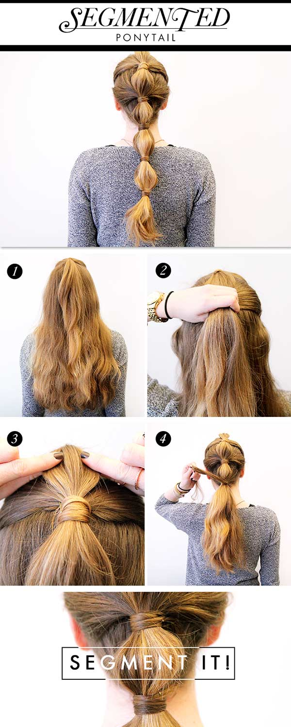 3 Party Ponytail Hairstyles to Try This Holiday
