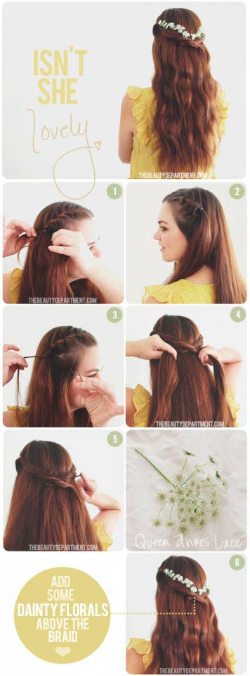 Popular Hairstyle Step By Step Guide Easy Hairstyles Step By Step