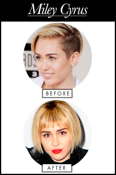The Worst Celebrity Makeovers of 2013