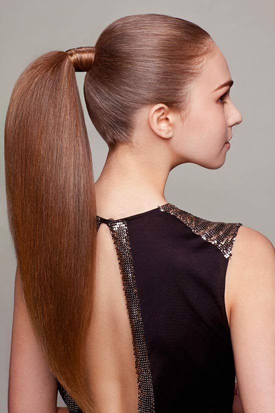 Hairstyle Ponytail : For Gilrs for Medium Hair For Women : Ponytail Hairstyles Hairstyles ...