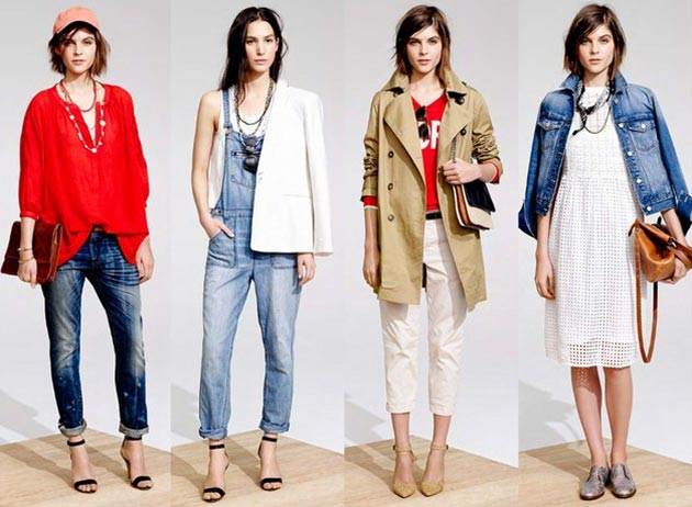 Madewell Spring/Summer 2014 Collection