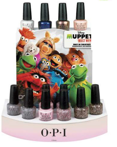OPI Muppets Most Wanted 2014