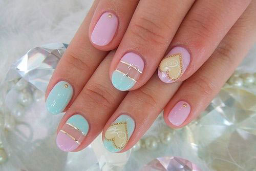 Lovely Valentine's Day Nail Art Ideas