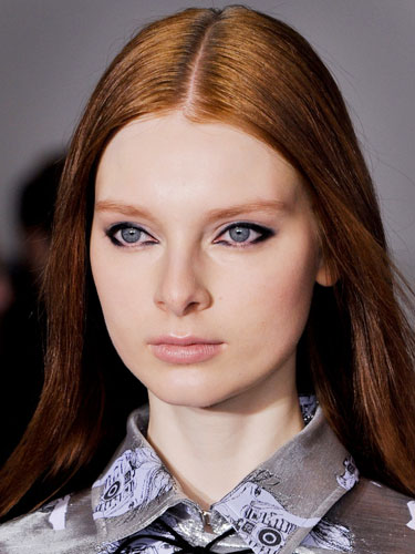 Best Fall 2014 Beauty Trends from NYFW Fall 2014