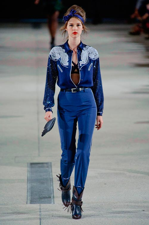 How to Nail Down the Cowgirl Style for Spring 2014