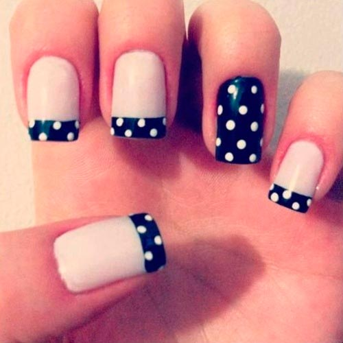 Super-Cool French Manicure Ideas | Beauty Tips, Hair Care