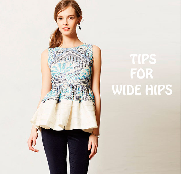 How to Hide Wide Hips with Clothing