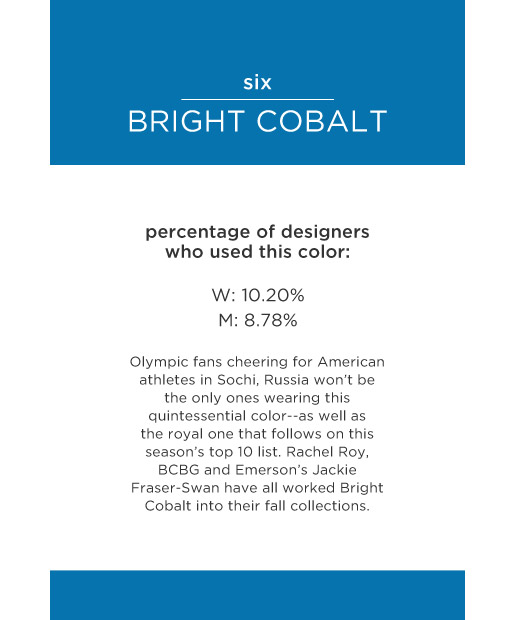 Cobalt Color Pantone The Top 10 Pantone Colors For