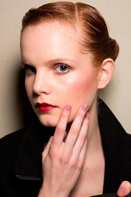 Best Nail Styles from London and Milan Fashion Weeks Fall 2014