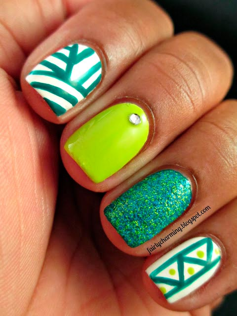 Mismatched Nail Design Ideas