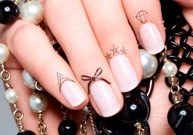 Faux Cuticle Tattoos Ideas