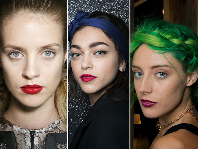 London Fashion Week Fall 2014 Best Beauty Trends