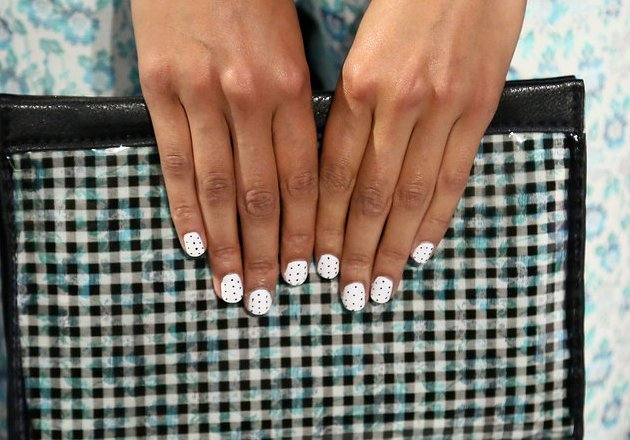 White Nail Polish Trend 2014 Best Spring 2014 Nail Trends