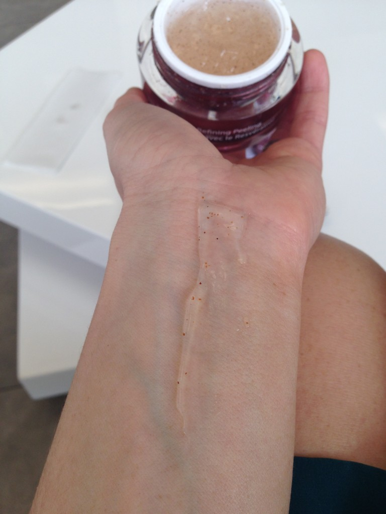 Sample of Refining Peel from Vine Vera Resveratrol line