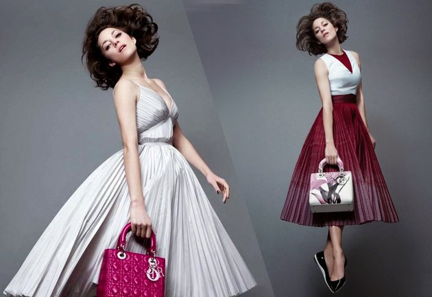 Lady Dior 2015 Campaign With Marion Cotillard