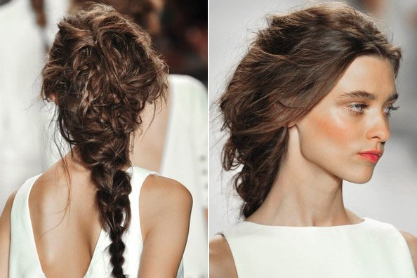 Marvelous Loose Braid Hairstyles Photos Braids Hairstyle Inspiration Daily Dogsangcom