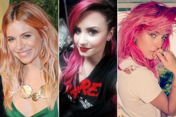 The New Hair Trend of Pastel Colors 2015