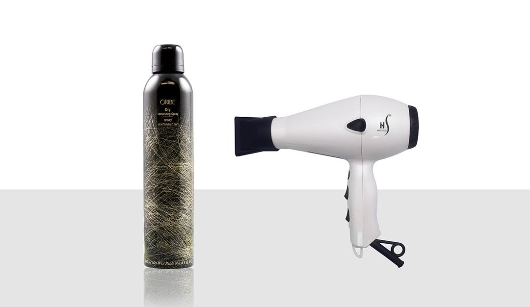 Oribe Texturizing Spray, Herstyler Pro Dryer