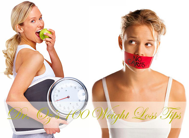 Woman on a diet and holding weighing scale