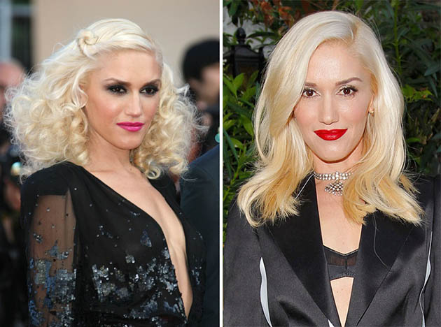 Gwen Stefani Blonde Hair