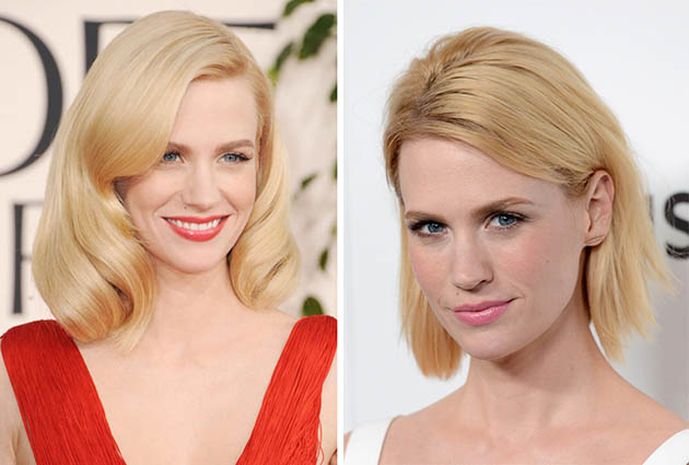 January Jones Blonde Hair