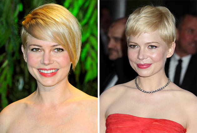 Michelle Williams Blonde Hair