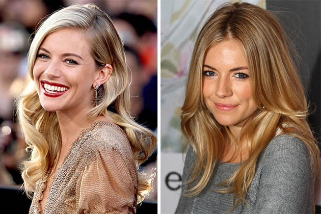 Sienna Miller Blonde Hair