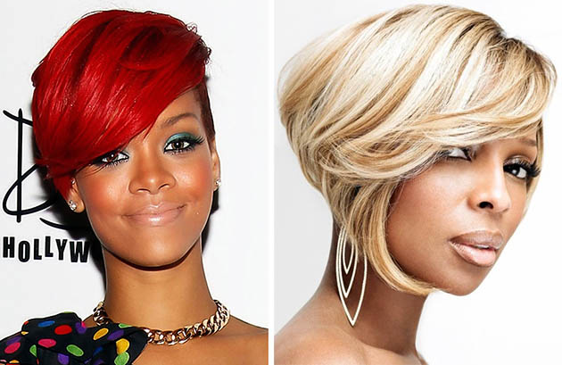 Celebrities with short bob hairstyles