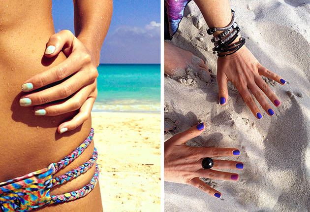 Best Nail Art Ideas and Nail Polish Colors for Tan Skin