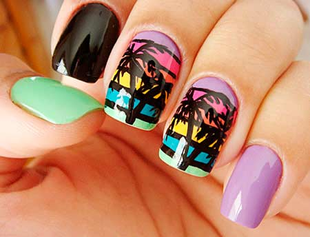 Neon Nail Art Designs – BeautyFrizz