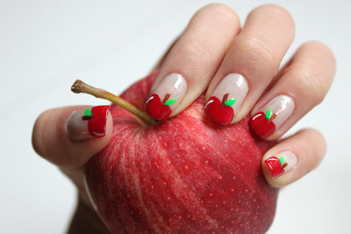 Fruit Nail Art Designs